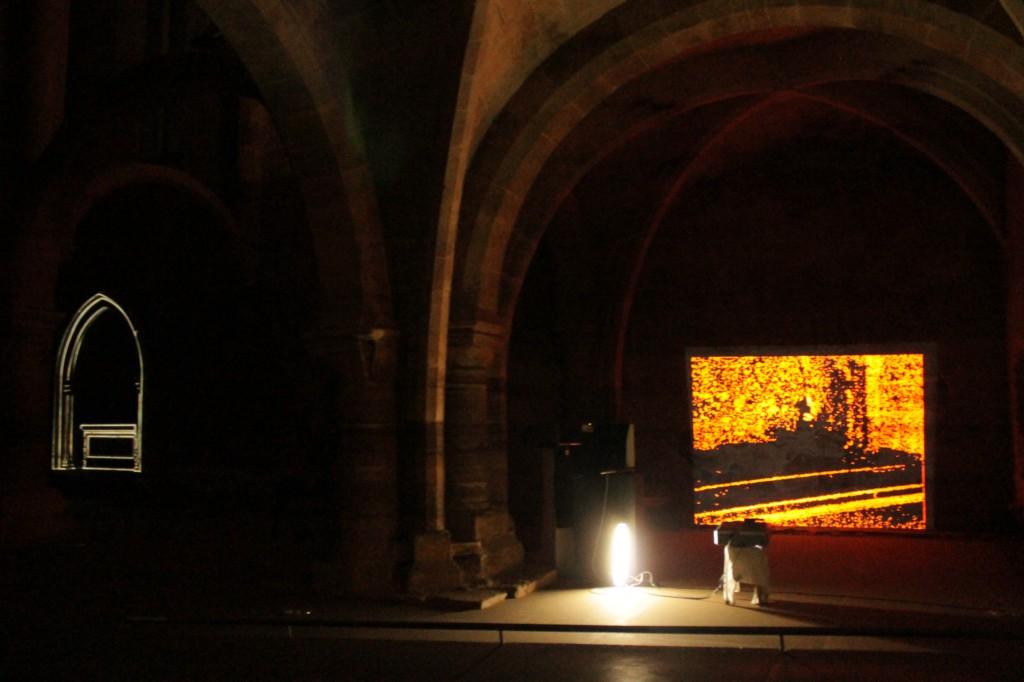 Installation au monastere Santa Clara-a-Velha