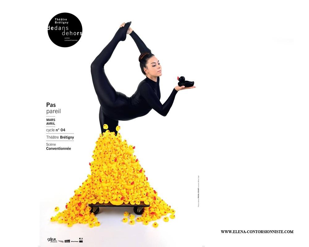 Affiche de la saison du Théâtre de Brétigny