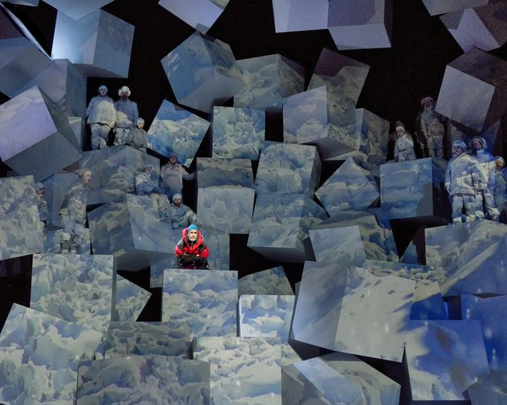 """Everest"", The Dallas Opera, Stage design par Robert Brill."