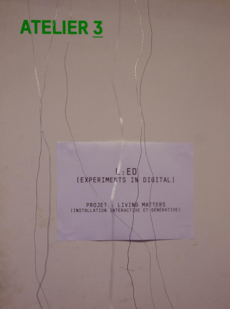 L'atelier du Château Ephemere