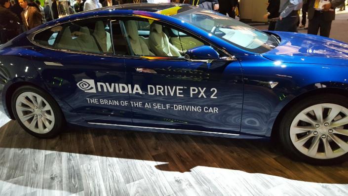 Voiture autonome de NVDIA en partenariat avec Audi