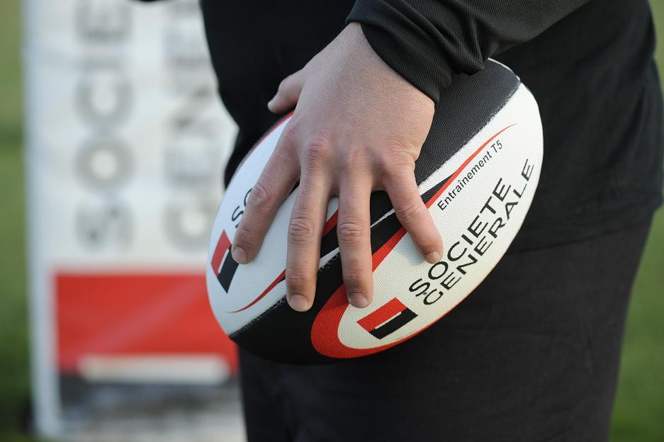La Société Générale, une image étroitement associée au rugby français...