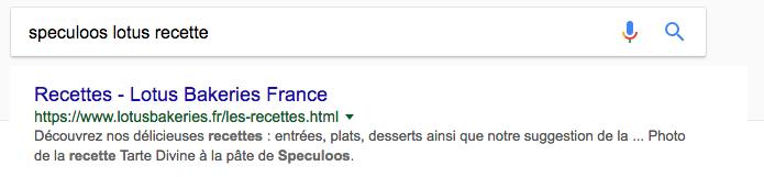 Soeculos lotus google suggestion