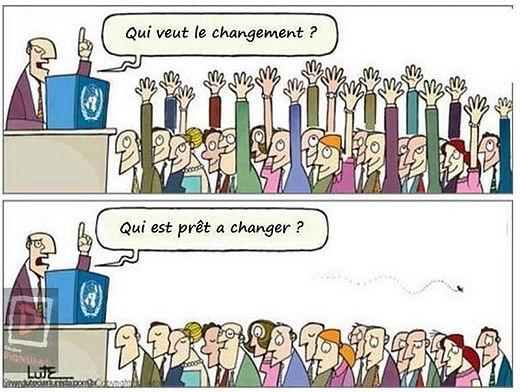 conduite changement